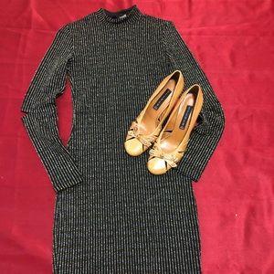Elegant shimmering dress